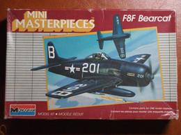Maquette Plastique - Avion F8F Bearcat Au 1/72 - Monogram Mini Masterpieces N°5013 - Airplanes