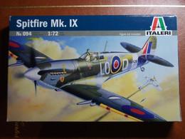 Maquette Plastique - Avion Spitfire Mk. IX Au 1/72 - Italeri N°094 - Airplanes