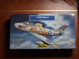 Maquette Plastique - Avion F-86F Sabre Au 1/72 - Heller N°80277 - Airplanes