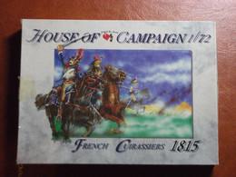 Maquette Plastique - French Cuirassiers 1815 Au 1/72 - Guerres Napoléoniennes - House Of Campaign N°51 - Figurines