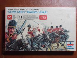 Maquette Plastique - Scots Grey British Cavalry Waterloo 1815 Au 1/72 - Guerres Napoléoniennes - Esci N°217 - Figurines