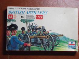 Maquette Plastique - British Artillery Artillerie Britannique Waterloo 1815 Au 1/72- Guerres Napoléoniennes - Esci N°233 - Figurines