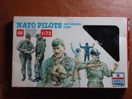 Maquette Plastique - NATO Pilots & Ground Crew Au 1/72 - Pilotes OTAN & équipes Au Sol - Esci N°243 - Figurines