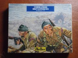 Maquette Plastique - Commandos Britanniques Au 1/72 - World War II - Heller N°79632 - Figurines