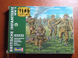 Maquette Plastique - British Infantry - Infanterie Britannique Au 1/72 - World War II - Revell N°02523 - Figurines