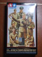 Maquette Plastique - World War II German Africa Corps Infantry Set Au 1/48 - Tamiya N°61 - Figurines