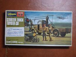 Maquette Plastique - Starter Truck Toyota GB Au 1/72 - World War II - Armée Japonaise - Hasegawa N°17 - Trucks And Trailers