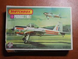 Maquette Plastique - Avion Provost.T/Mk1 Au 1/72 - Matchbox N°PK30 - Airplanes