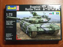 Maquette Plastique - Char D'assaut Russian Battle Tank T-90A Au 1/72 - Revell N°03301 - Military Vehicles