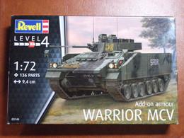 Maquette Plastique - Véhicule Blindé Char D'assaut Add-on Armour Warrior MCV Au 1/72 - Revell N°03144 - Military Vehicles