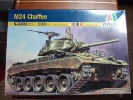 Maquette Plastique - Char D'assaut Tank M24 Chaffee Au 1/35 - Italeri N°6431 - Military Vehicles