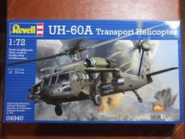 Maquette Plastique - Hélicoptère De Transport UH-60A Au 1/72 - Revell N°04940 - Helicopters