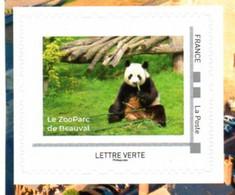 (L171) Région Centre Loir Et Cher Panda Du Zoo De Beauval  Autoadhésif Issu Du Collector Régional 2021 - Collectors