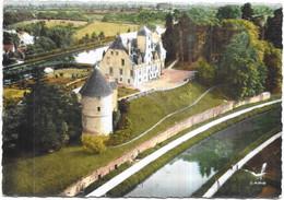DEPT 58 - En Avion Au Dessus De CHATILLON EN BAZOIS - Le Canal Et Le Château - 180621 - - Chatillon En Bazois