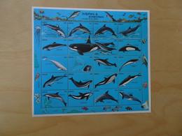 Palau Michel 444-463 Meerestiere Postfrisch (14149H) - Delfine