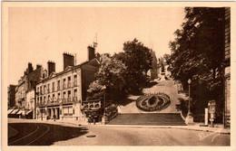5LOM 316. BLOIS - L'ESCALIER ET LA RUE DENIS PAPIN - Blois
