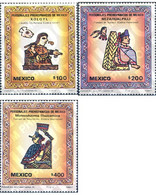 Ref. 343337 * MNH * - MEXICO. 1987. PRO-COLUMBIAN CHARACTERS . PERSONAJES PROCOLOMBINOS - Archeologie