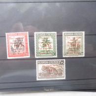 Ruanda Urundi 150/153 Neuf ** Mnh Parfait Perfect - 1924-44: Ungebraucht