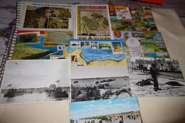 LOT DE 10 CARTES DEBARQUEMENT EN NORMANDIE 6 JUIN 1944 - 5 - 99 Postcards