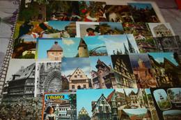 """LOT DE 45 CARTES """"ALSACE"""" - 5 - 99 Postcards"""