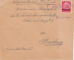 Posten Briefe Lothringen/Elsass, Muster Ohne Wert, Kleine Orte - Ohne Zuordnung