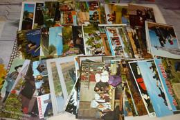 """LOT DE 85 CARTES """"THEME FOLKLORE"""" - 5 - 99 Postcards"""