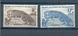 SPM 319 - YT 345 - 346 ** - Unused Stamps