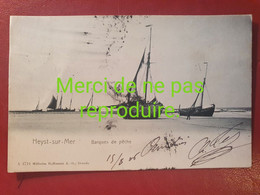 BEL 077 HEYST SUR MER Barques De Pêche - Heist