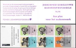 Pays-Bas Carnet Obl Yv:C1438a Mi:MH49 Ouderenpostzegels (TB Cachet Rond) - Postzegelboekjes En Roltandingzegels