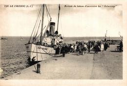 """N°84866 -cpa Le Croisic -arrivée Du Bateau D'excursion Le """"Solacroup"""" - Andere"""