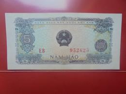 VIET NAM (NORD) 5 HAO Peu Circuler/Neuf (B.23) - Vietnam