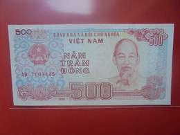 VIET NAM (NORD) 500 DÔNG Peu Circuler/Neuf (B.23) - Vietnam