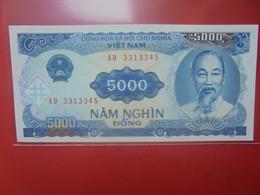 VIET NAM (NORD) 5000 DÔNG Peu Circuler/Neuf (B.23) - Vietnam