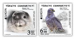 TURKEY STAMPS 2021/EUROPA(EAGLE,SEAL)-MNH - 2020