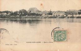 COSNE SUR LOIRE : QUAI ET USINES - Cosne Cours Sur Loire