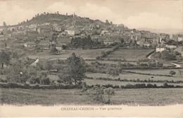 CHATEAU CHINON : VUE GENERALE - Chateau Chinon