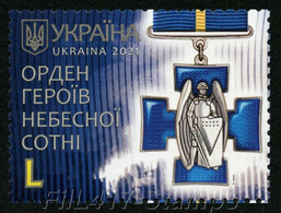 "2021 Ukraine. Order Of ""Heroes Of The Heavenly Hundred"" - ""Awards Of Ukraine"". - Ukraine"