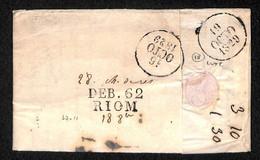 DEB.62/RIOM SUR LAC DU 14 OCTOBRE 1829 - LUXE - 1801-1848: Precursors XIX