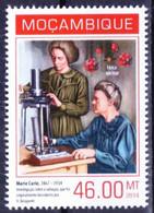Mozambique 2014 MNH, Marie Curie & Henri Becquerel Discovered Radioactivity - Nobelprijs