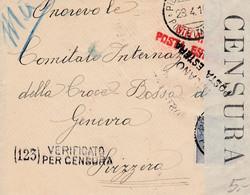 Lettre D'Italie, Avec Censure - 12 X 9,5 Cms. - Sin Clasificación