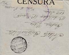 Lettre D'Italie, Avec Censure - 12 X 9,5 Cms. - Zonder Classificatie