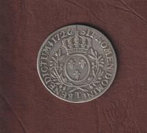 FRANCE - Pièce Royale De 1726 En Argent - LOUIS XV - Sous Capsule - Voir Les 6 Scannes - 1715-1774 Louis XV Le Bien-Aimé