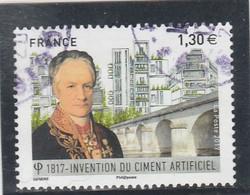 FRANCE 2017 VICAT INVENTION DU CIMENT ARTIFICIEL OBLITERE - YT 5153 - Used Stamps