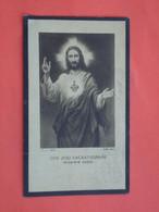 Léa Goudezeune - Schouteten Geboren Te Wytschaete - Wijtschate 1888 Overleden  1932  (2scans) - Religion & Esotericism