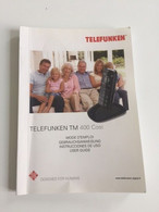 Manuel Telefunken TM 400 Cosi - Telefonía