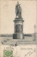 CPA - St-Pétersboug - Monument De Souvoroff - Russia