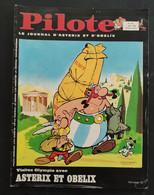 1968 PILOTE N° 445 - LE JOURNAL D'ATERIX ET OBELIX - ASTERIX AUX  JEUX OLYMPIQUES - LUCKY LUKE DALTON CITY - Pilote