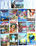 Lot De 13 CPM Publicitaires Des PYRENEES : Bagnères De Luchon, De Bigorre, Cauterets, Capvern, Barèges, Lourdes, Molitg - Advertising