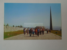 D180511  Armenia  Yerevan  Erevan Երևան  1981    Monument To The Victims - Armenia