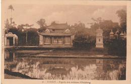 *** VIET NAM ***  TONKIN  Pagode Aux Environs D'Haiphong Neuve/unused TTB - Vietnam
